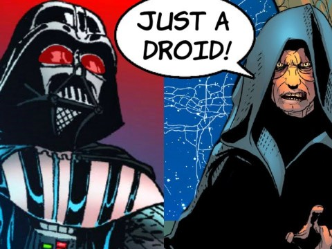 When Darth Sidious called Darth Vader a DROID!! (Canon) 2
