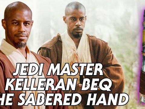 All About Jedi Master Kelleran Beq: The Sabered Hand 1