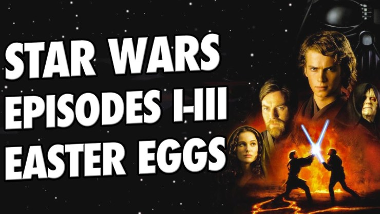 All STAR WARS Easter Eggs | Prequel Trilogy 1