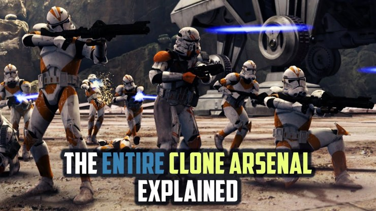Every Blaster Used by the Clone Army 1