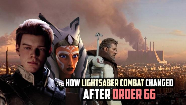 How Lightsaber Combat Techniques Survived Order 66 1
