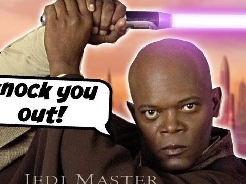 Mace Windu Wants to Use the Dark Side to Knock a Guy Out 7