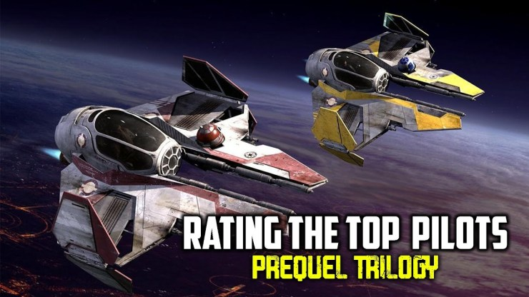 Rating the Top Pilots | Star Wars Prequel Trilogy 1