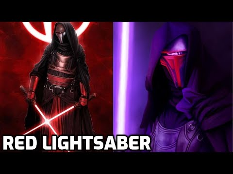 Why All Sith Used RED LIGHTSABERS After Darth Revan 1