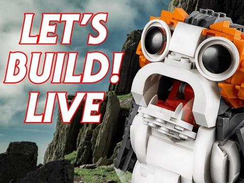 Let's Build a LEGO Porg LIVE! 2