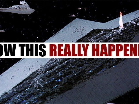 The Real Reason one A-Wing took down a Super Star Destroyer 3