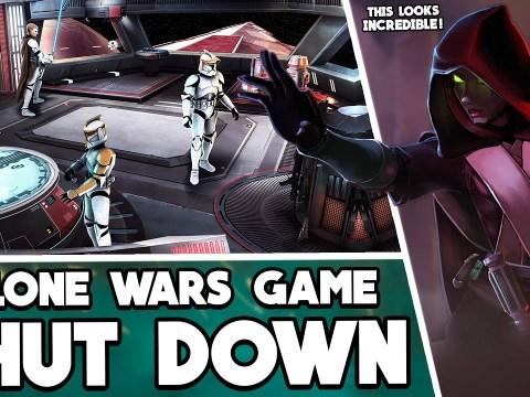 The shutdown Clone Wars-era Star Wars Game (Redemption) 3