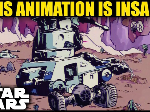 This is one of the BEST Star Wars Animations ever seen! 7