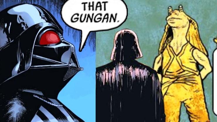 When Darth Vader Saw Jar Jar Binks Again & Reacted (Canon) 1
