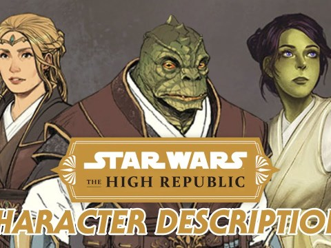 Star Wars The High Republic - New Character Details 1