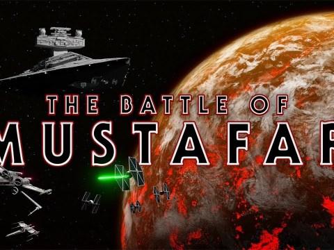 THE BATTLE OF MUSTAFAR - A STAR WARS FAN FILM 1
