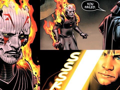 THE GRAND INQUISITOR IS BACK AND MEETS WITH VADER 2