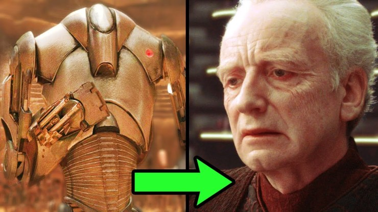 What Palpatine did with Super Battle Droids AFTER Order 66 1