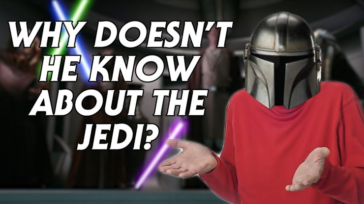 Why Doesn't The Mandalorian Know About the Jedi? 1