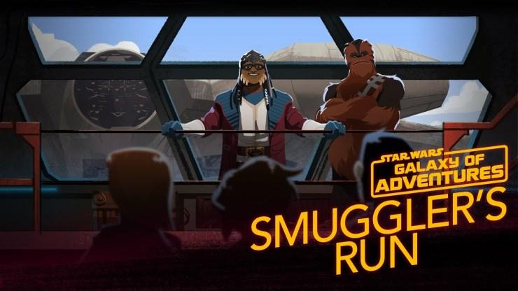 Millennium Falcon - Smugglers Run | Galaxy of Adventures