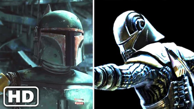 Starkiller Easily Defeats Boba Fett (Force Unleashed) Star Wars 1