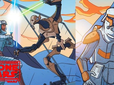 The Time General Grievous Fought Alongside Obi-Wan Kenobi
