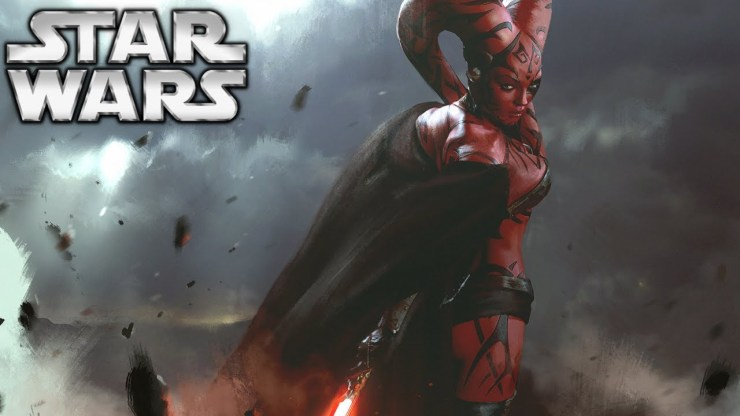 George Lucas ST Villains  - Darth Maul and Darth Talon
