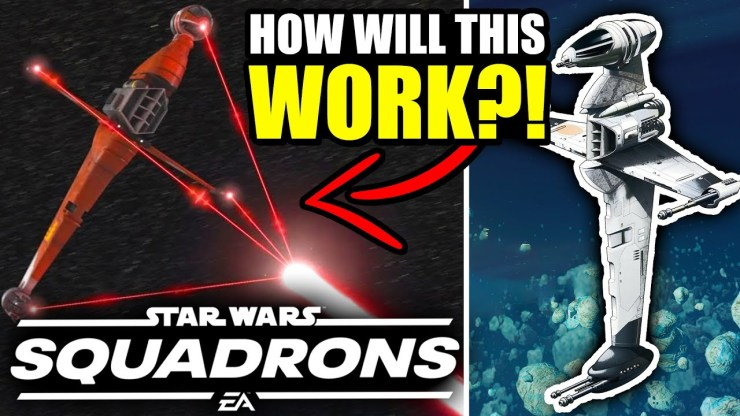 How will the B-WING work in Star Wars Squadrons?!