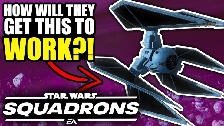 How will the TIE DEFENDER work in Star Wars Squadrons?! 1