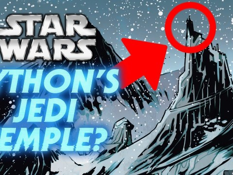 Is This Tython's Jedi Temple - Tython Legends and Canon