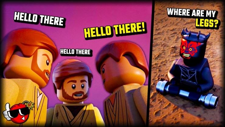 Lego Star Wars has NEVER done THIS