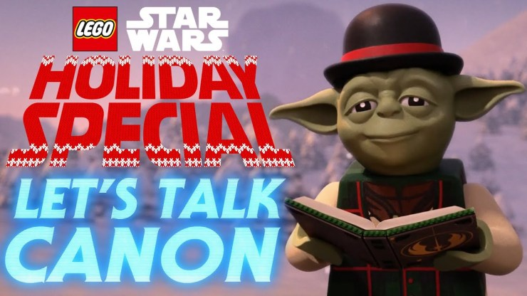 LEGO Star Wars Holiday Special and Canon