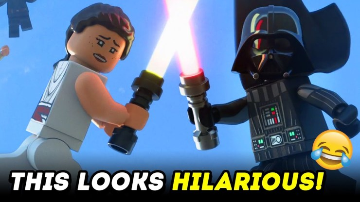 LEGO Star Wars Holiday Special Trailer is HILARIOUS!