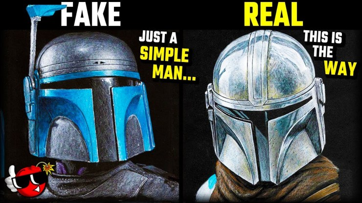 Star Wars Bounty Hunter but you're not a REAL Mandalorian.