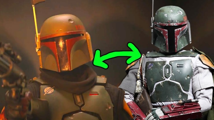 Boba Fett's Armor Removed Two Details From his Old Armor!