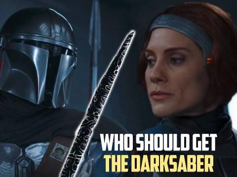 Din Djarin Vs Bo Katan Who Should Wield the DARKSABER?
