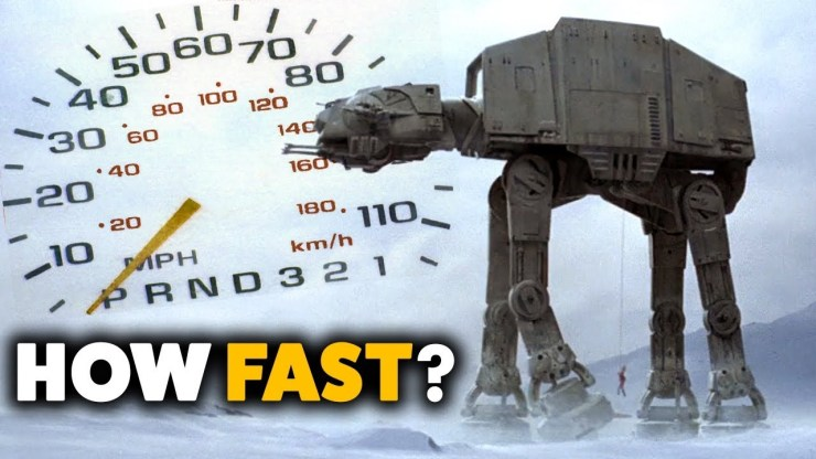 AT-AT Walker Speed Analyzed