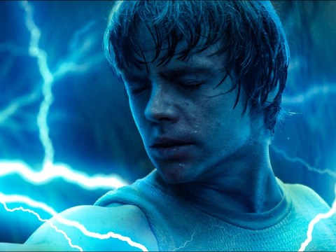Luke Uses Sith Lightning on Vader in Empire Strikes Back Script