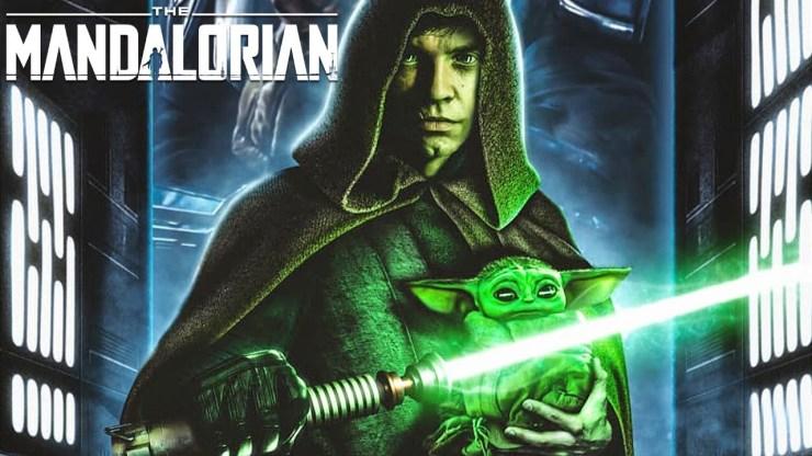 Mark Hamill Reacts to Luke Skywalker in The Mandalorian
