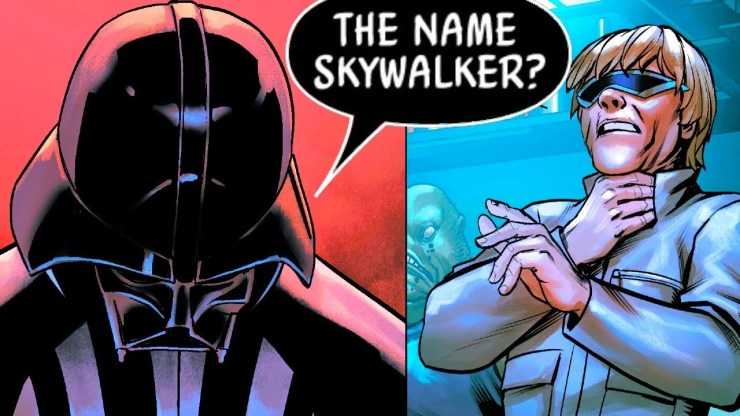 What Darth Vader Did to a DOUCHE Using his Skywalker Name!