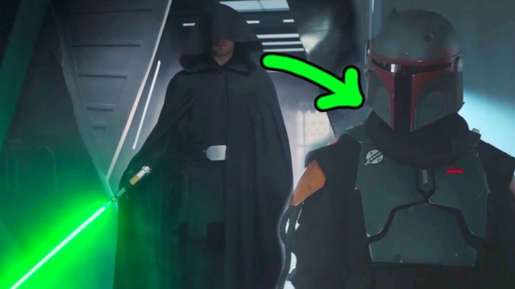 Why Boba Fett Wasn't in the FINALE When Luke Showed!