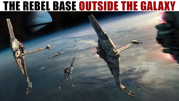 The BIZARRE Rebel Alliance Base in ANOTHER GALAXY!