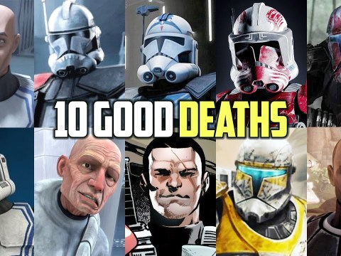 10 Honorable Clone Trooper Deaths