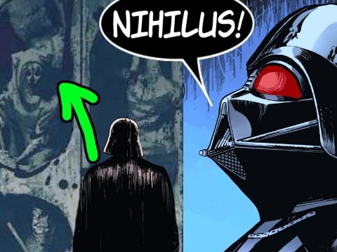 Darth Vader Learns About Darth Nihilus On Exegol!