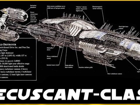Recusant-class Light Destroyer COMPLETE Breakdown
