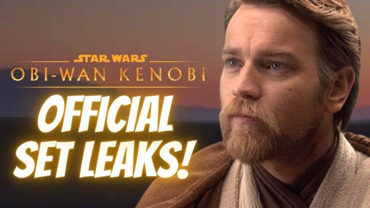 Big Set Leaks For the Obi-Wan Kenobi Series! (Star Wars News)