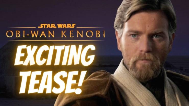 Obi-Wan Kenobi NEWS | Exciting Tease For Fight Scene!