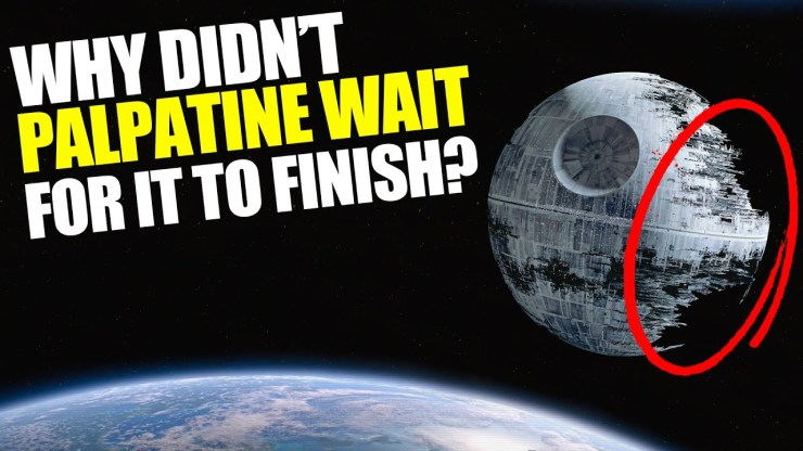 The Real Reasons Palpatine leaked about the Second Death Star