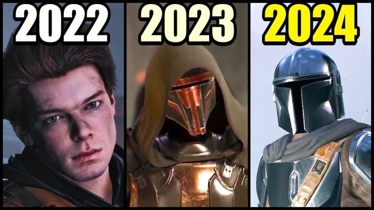 ALL upcoming Star Wars games from 2021 - 2024