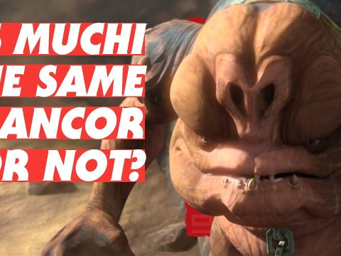 Is Muchi the Same Rancor in Star Wars Return of the Jedi?