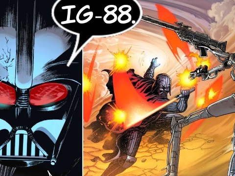 IG-88 IS BACK AND SHOOTS DARTH VADER (CANON)