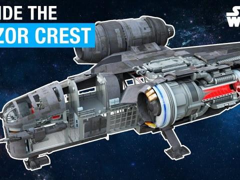 Star Wars: Inside The Mandalorian Razor Crest