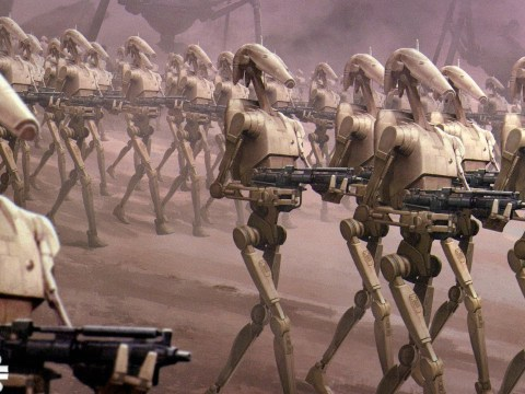 Why Palpatine Didn't Use Absorb the CIS Droid Army (Empire)