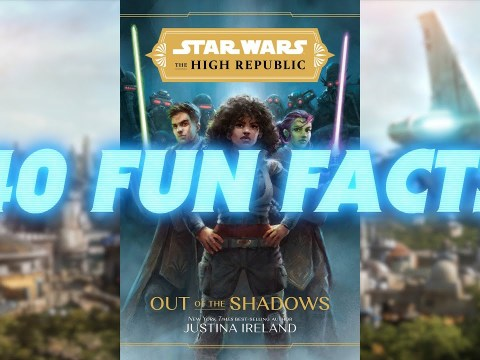 40 Facts from Out of the Shadows - Star Wars References