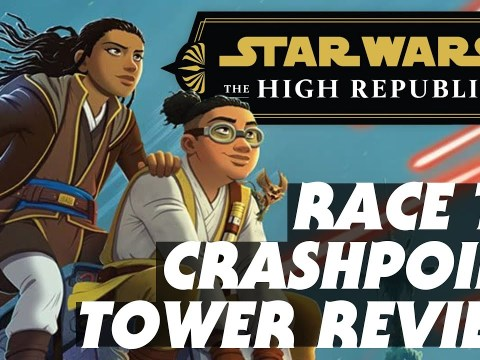 Star Wars: Race to Crashpoint Tower Book Review